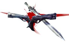 Dante's Weapons from DMC: Devil May Cry