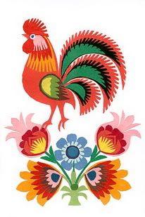 Inspire Bohemia: Wycinanki: Polish Paper Art