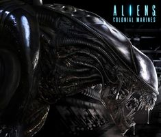 Alien Video Game Poster Illustration - Search similar styles, portfolios and artists on the illustration agent website. Video Game Posters, Video Games, Alien Videos, Aliens Colonial Marines, Aliens Movie, Photo Retouching, 3d Animation, Character Illustration, Science Fiction