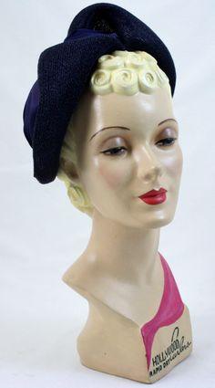 Vintage Style Art Deco Mannequin Head