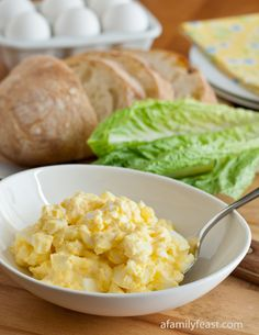Classic Egg Salad. Add a little dill pickle, pinch of pepper and a hint of mustard. Minus 2 tablespoons mayo and add 2 tablespoons Greek yogurt.