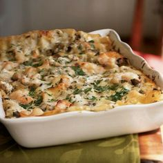 Seafood Lasagna by Cooking Light
