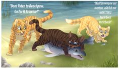 Another day in Riverclan by DancingfoxesLF on DeviantArt
