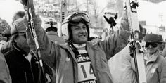 Franz Klammer.  A gung-ho skier who made skiing so gripping to watch.