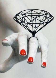 Jewellery by Joji Kojima.
