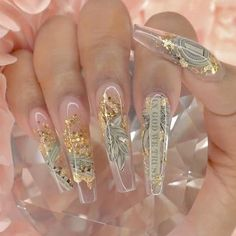 The Best Nail Art Designs – Your Beautiful Nails Glam Nails, Hot Nails, Bling Nails, Gorgeous Nails, Pretty Nails, Sparkly Nails, Best Nail Art Designs, Fire Nails, Best Acrylic Nails