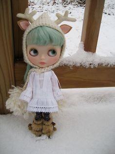it snowed!!! by merwing✿little dear, via Flickr