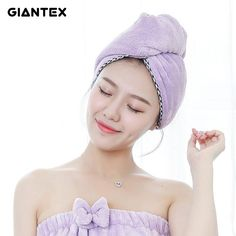 Garden Pots & Planters Power Source Honey Lovely Lady Dry Hair Cap Microfiber Quickly Dry Hair Towel Turban Women Girls Ladies Cap Bathing Drying Towel Home Head Wrap Hat To Reduce Body Weight And Prolong Life