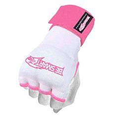 Be Smart Gel Padded Gloves Wrap Inner Hand Wrap boxing bag Fist Padded MMA UFC M (White/Pink, Small) BeSmart http://www.amazon.co.uk/dp/B018SHMF54/ref=cm_sw_r_pi_dp_G8ABwb1BSP7R7