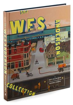 I want it badly! // The Wes Anderson Collection Book. Make today as whimsically enchanting as your favorite films by opening this hardcover anthology to delve into the mesmerizing mind of renowned filmmaker Wes Anderson! Rock Roll, The Wes Anderson Collection, Vintage Books, Retro Vintage, Wes Anderson Movies, Wes Anderson Book, Abrams Books, Michael Chabon, Spoke Art