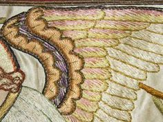ecclesiastical embroidery | Ecclesiastical Embroidery: Processional Canopy in Disrepair