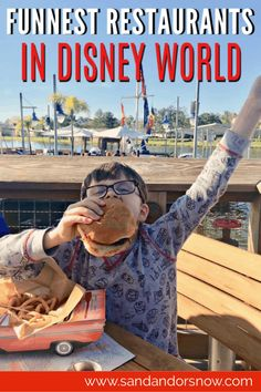 Looking for all the fun on your next Disney World vacation? From awesome themes to one-on-one character interaction, here are the top fun restaurants at Disney World! Disney World Rides, Disney World Food, Walt Disney World Vacations, Disney Travel, Disneyland Trip, Disney On A Budget, Disney Vacation Planning, Disney World Planning, Vacation Ideas