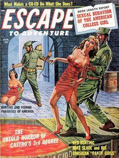 Pulp Fiction Art, Fiction Novels, Science Fiction Art, Pulp Art, Pulp Magazine, Magazine Art, Magazine Covers, Crime, Mystery Train