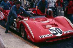Ferrari 712 7L-V12 Can Am Race Car 1971