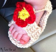 Baby Sandals Free pattern