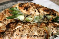 Asparagus Stuffed Chicken Breast with Mozzarella