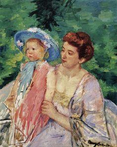 Mary Cassatt (American 1844-1926) Edgar Degas, National Gallery Of Art, Art Gallery, Mary Cassatt Art, Mother And Child Painting, Impressionist Artists, Renoir, Vintage Artwork, American Artists