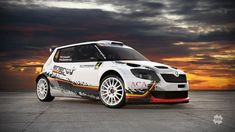 MM Rally Team (Fabia S2000) - design and wrap - 2014.