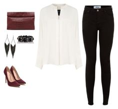 """""""Untitled #197"""" by am464 ❤ liked on Polyvore featuring Derek Lam, GUESS and Marie Turnor"""