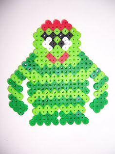Brobee Yo Gabba Gabba! perler beads by Perler Princess