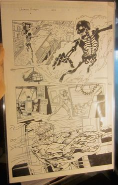 Original Comic Art UNCANNY X-MEN #406 Page #11 Marvel Comics Lopresti/Morales