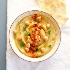 Chickpea Hummus. Hummus di ceci
