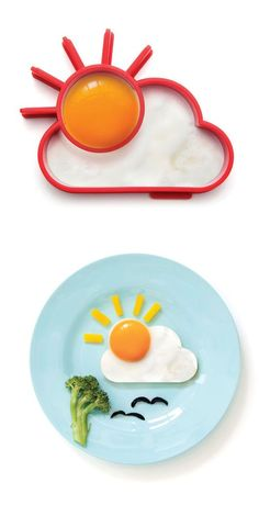 Sunny Side Egg Mold.Make you smile everyday.#kitchen gadget#gearbest#