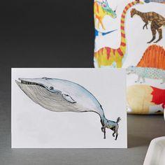 Mutant animal greeting card