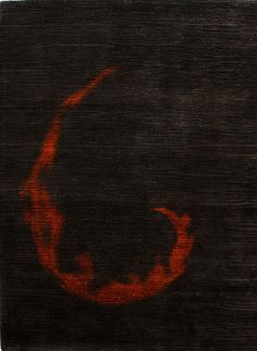 modernrugs.com Christopher Fareed Flame Hand Knotted Rug