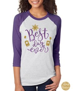 Best Day Ever - Tangled Shirt - Disney Shirt by ShineDesignsTees on Etsy https://www.etsy.com/listing/507566336/best-day-ever-tangled-shirt-disney-shirt
