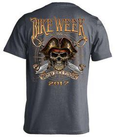 2017 Daytona Beach Bike Week Pirate Skull - 76th Anniversary