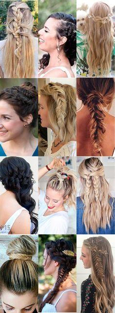 Procurando opções legais de tranças diferentes para usar no cabelo? Aqui tem uma ótima seleção de penteados super originais para todas as ocasiões.