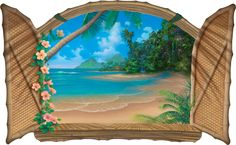 Kiss of paradise painting by Artist David Miller Paintings I Love, Seascape Paintings, Landscape Paintings, Wall Paintings, Landscapes, Art Tropical, Tropical Paradise, Paradise Painting, David Miller
