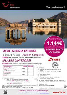 ¡Semana Santa en India! INDIA Express salida desde Barcelona. Precio final desde 1.144€ - http://zocotours.com/semana-santa-en-india-india-express-salida-desde-barcelona-precio-final-desde-1-144e-2/