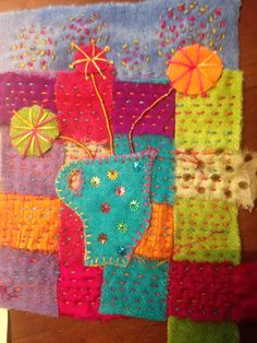 a little Summer Stitching #3 created by Dale Rollerson
