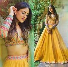 silk yellow skirt blouse dupatta buy for contact on WhatsApp+919214873512 fine silk jorget ,made by hand work motif sequin, silk thread ,15 days door delivery, price included all charge shipping free 35000/INR, can you do email ,pushkarfashion@gmail.com, Plain Lehenga, Yellow Lehenga, Indian Lehenga, Silk Lehenga, Ghagra Choli, Indian Dresses For Women, Indian Bridal Outfits, Indian Fashion Dresses, Party Wear Lehenga