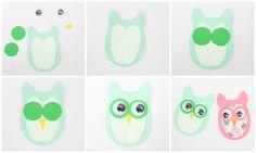 DIY owly boekenlegger