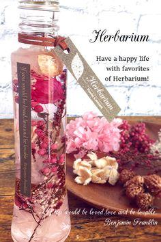 女性へのプレゼントに可愛らしいピンクのハーバリウム ラブリーピンク(ピンク)
