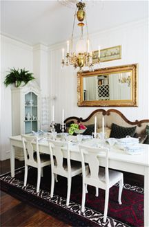 Add a sofa to your dining table!