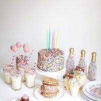 Party Ideas: A Sprinkles Party - LOL need to throw this for Mollye :)