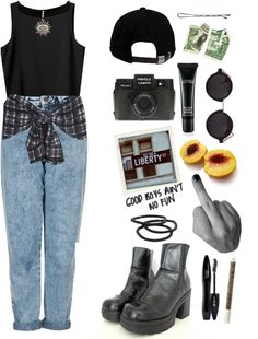 """""""tom boy livin'"""" by only-desire ❤ liked on Polyvore"""