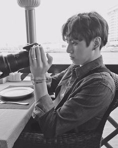 JUNGKOOK LOOK SO GOOD , HE SHOULD BE photographer .  This pic taken by RM✌️ _________________ 160329 BTS Twitter update || #jungkook #bts