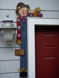 Debi's Doings Pattern- Wood Pattern For Scarecrow Door Hugger