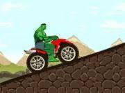 Khổng lồ xanh chơi moto bay