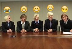 These emojis actually describe them perfectly