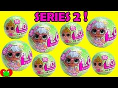LOL Surprise Dolls Lil Sisters Series 2 L.O.L. Baby Ball Blind Bags - YouTube