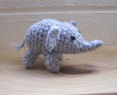 Small Crochet Amigurumi Elephant £7.50