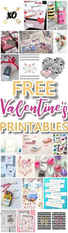 The BEST Valentine's Day FREE Printables - Kids Classmate Cards, Valentine Party Decorations, Hearts, Love, Red and Pink Themed Artwork Home Decor and Holiday Greeting Cards for your Sweethearts! - Dreaming in DIY #valentines #freeprintablevalentines #valentinesprintables #freevalentinesdaycards #valentinesdaypartyprintables #valentinesdayparty