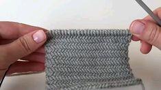 Aprenda a fazer esse lindo ponto espinha de peixe em trico para fazer lidas roupas e acessórios. Knitting For BeginnersKnitting FashionCrochet Hair StylesCrochet Ideas Knitting Paterns, Knitting Videos, Crochet Videos, Easy Knitting, Knitting For Beginners, Knitting Stitches, Knitting Projects, Crochet Patterns, Herringbone Stitch Knitting