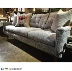 Furniture in Knoxville - Rowe Furniture - The Ethan Sofa - Braden's Lifestyles Furniture - Home Décor - Home Interiors - Interior Design - The Design Center at Braden's - Repost from LulusDecor